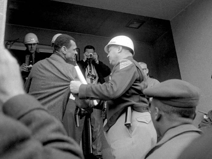 Jim Clark Grabbing Voter