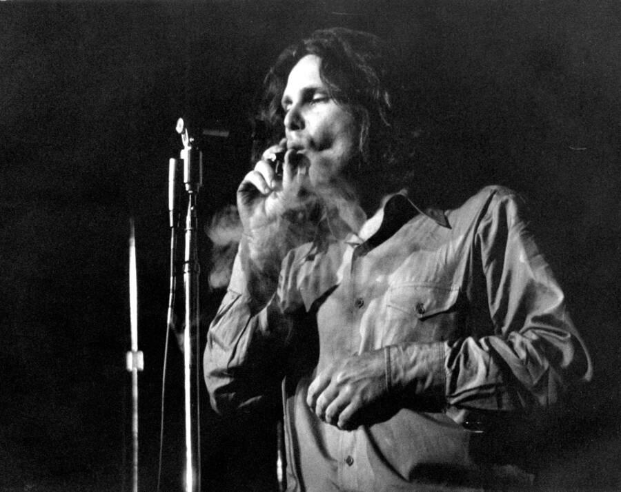 Jim Morrison Onstage