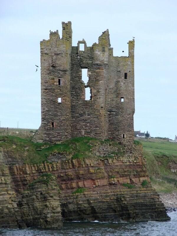 Keiss Castle Toilets