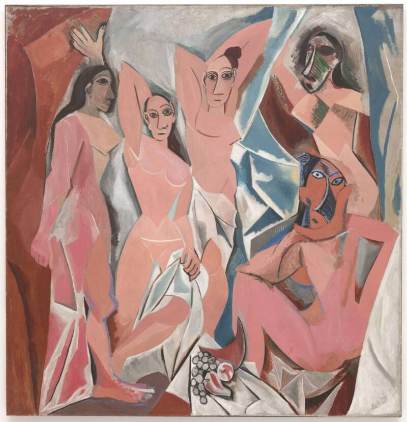 """The Museum of Modern Art Pablo Picasso made waves with paintings like """"Les Demoiselles d'Avignon."""""""