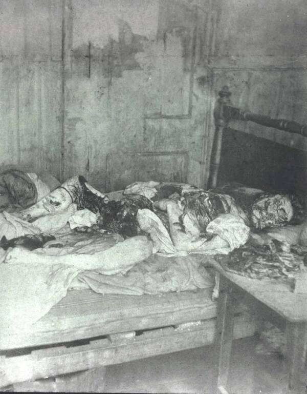 Mary Jane Kelly Corpse