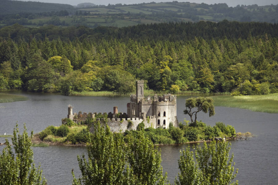 Mcdermotts Castle And Forests Beyond