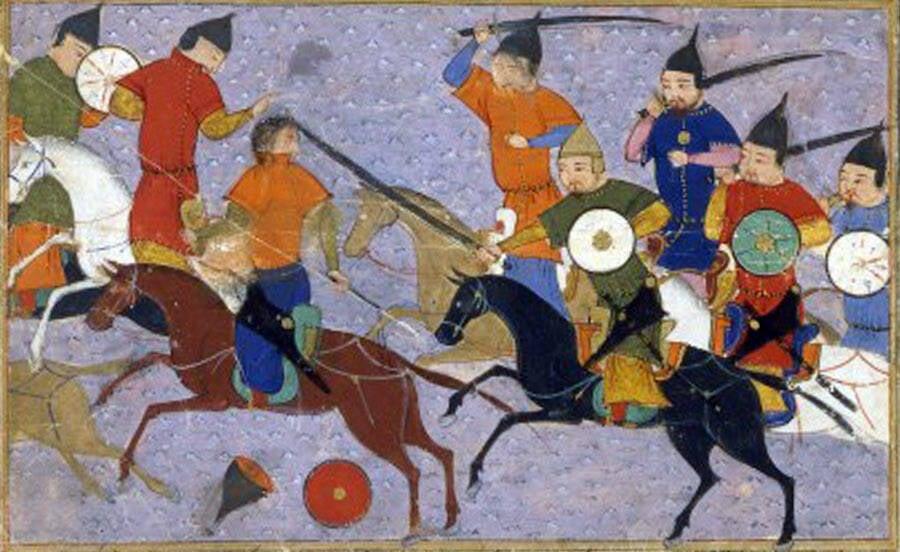 Mongol Battle Against China