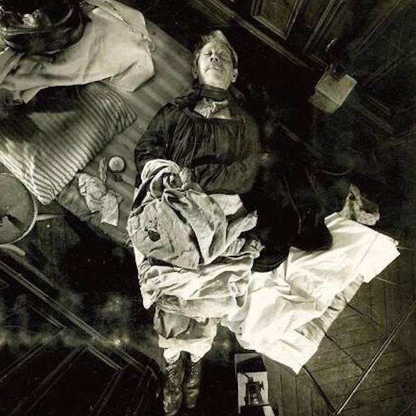 Murder Victim In Alphonse Bertillon Crime Scene Photo