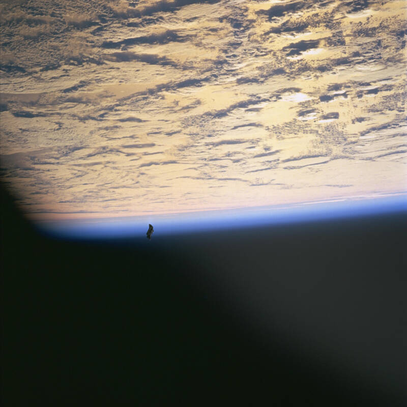 Nasa Image Black Knight Satellite