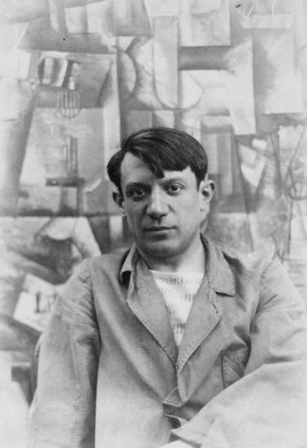 Wikimedia Commons Pablo Picasso in 1912.