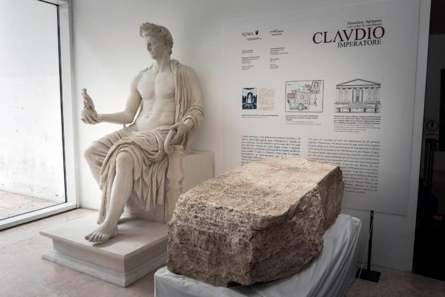 Roman Pomerium Stone