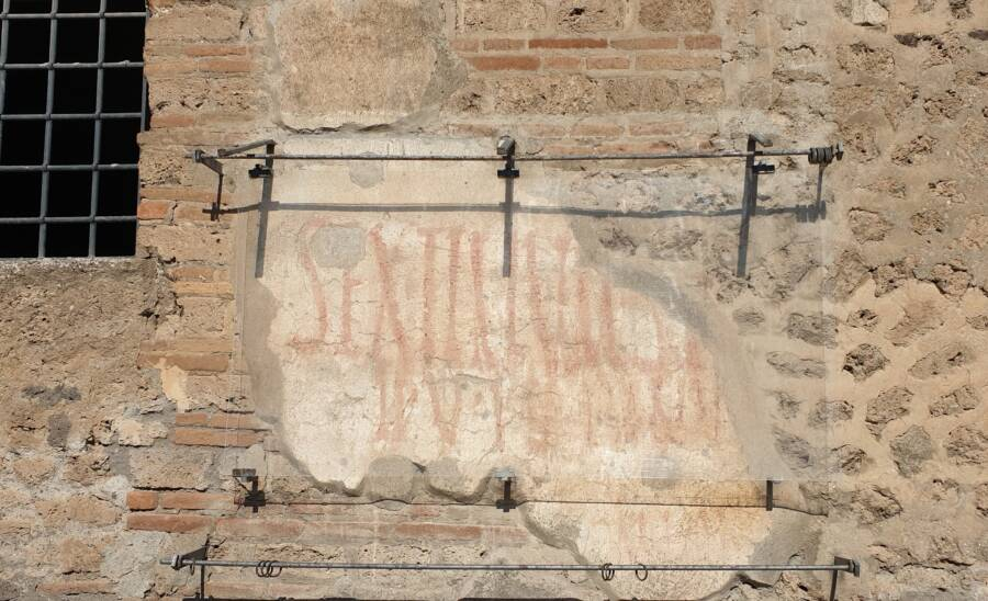 Protected Roman Graffiti
