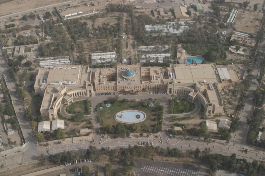 Republican Palace Aerial