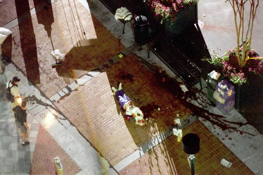Atlanta Bomber Crime Scene