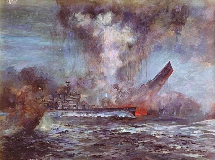 Sinking Of HMS Hood