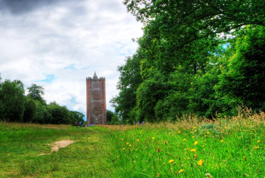Stourton Scenery And King Alfreds Tower