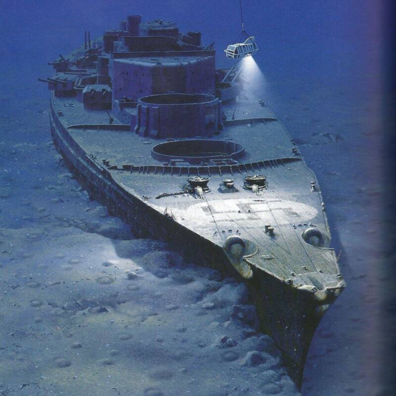 Wreck Of The Battleship Bismarck