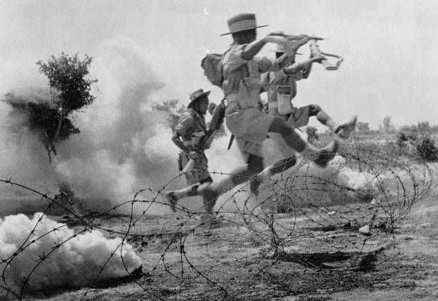 Gurkha Soldiers In Action