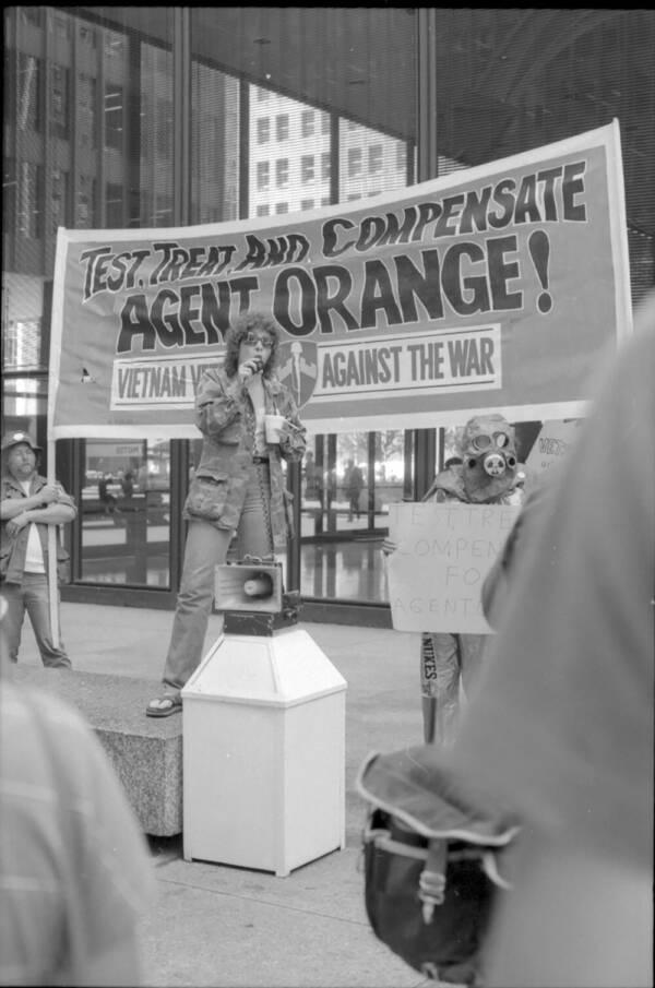 Agent Orange Protest