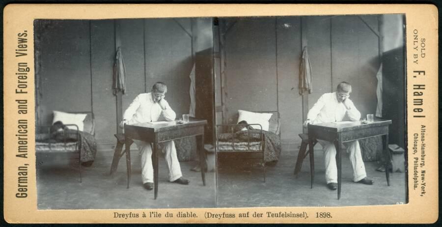 Alfred Dreyfus Devils Island