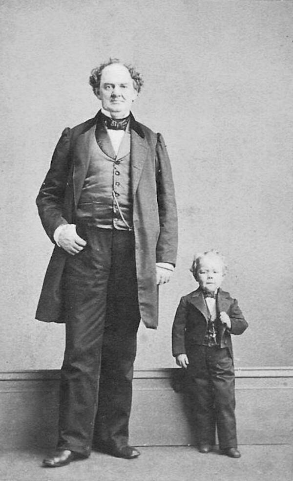 PT Barnum And Commodore Nutt