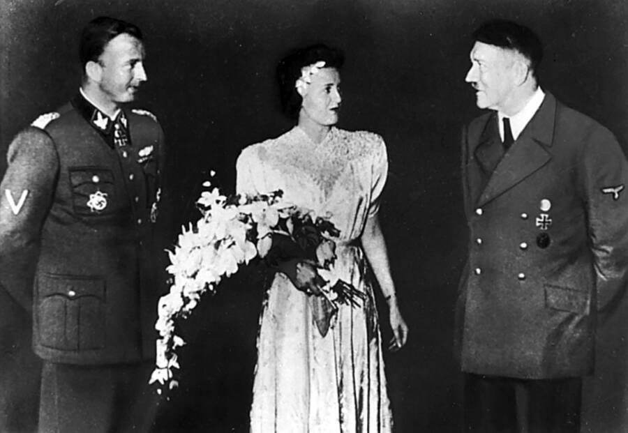 Hermann Fegelein Wedding