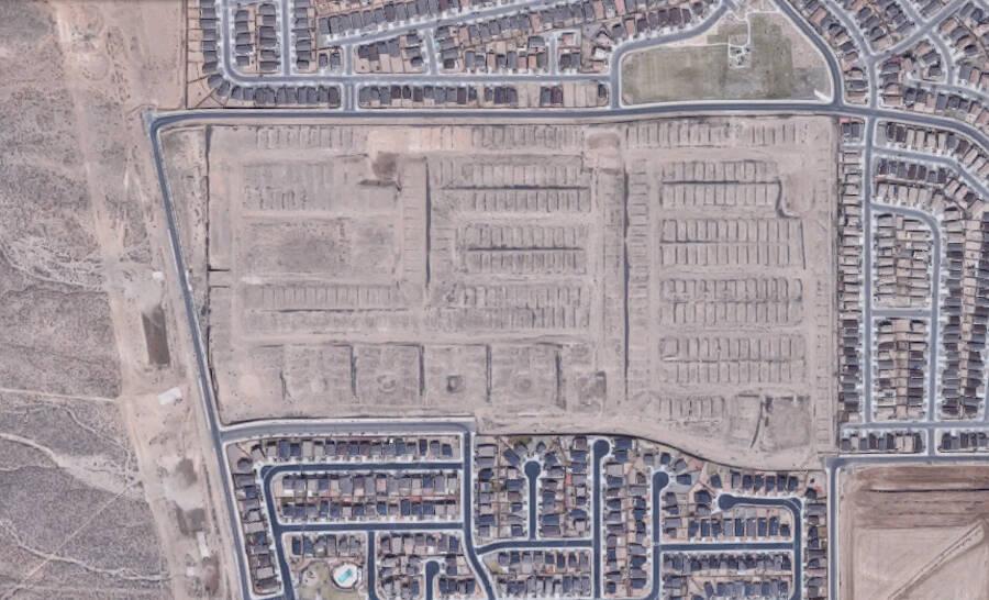 Burial Site Satellite Image
