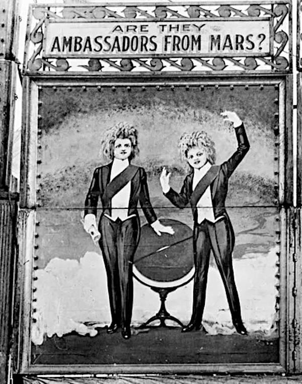 Circus Sideshow Poster