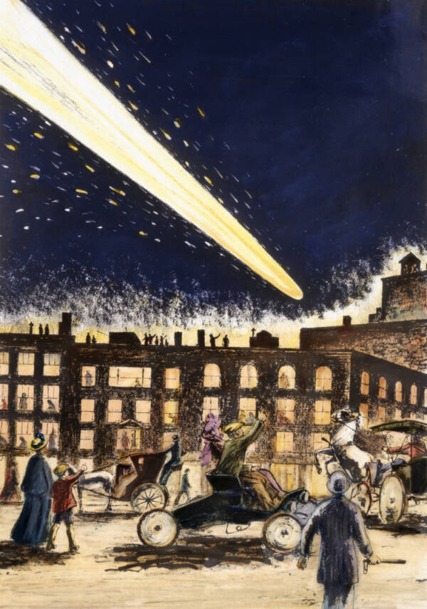 Cometa Halley 1910