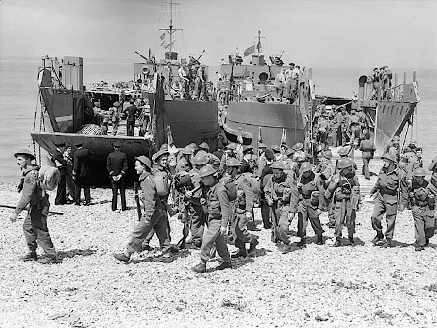 Dieppe Raid Training