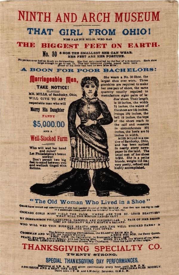 Dime Museum Poster