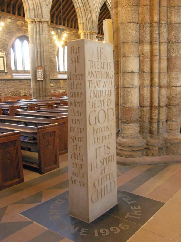 Dunblane Massacre Memorial Stone
