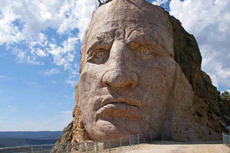 Face Of Crazy Horse Memorial