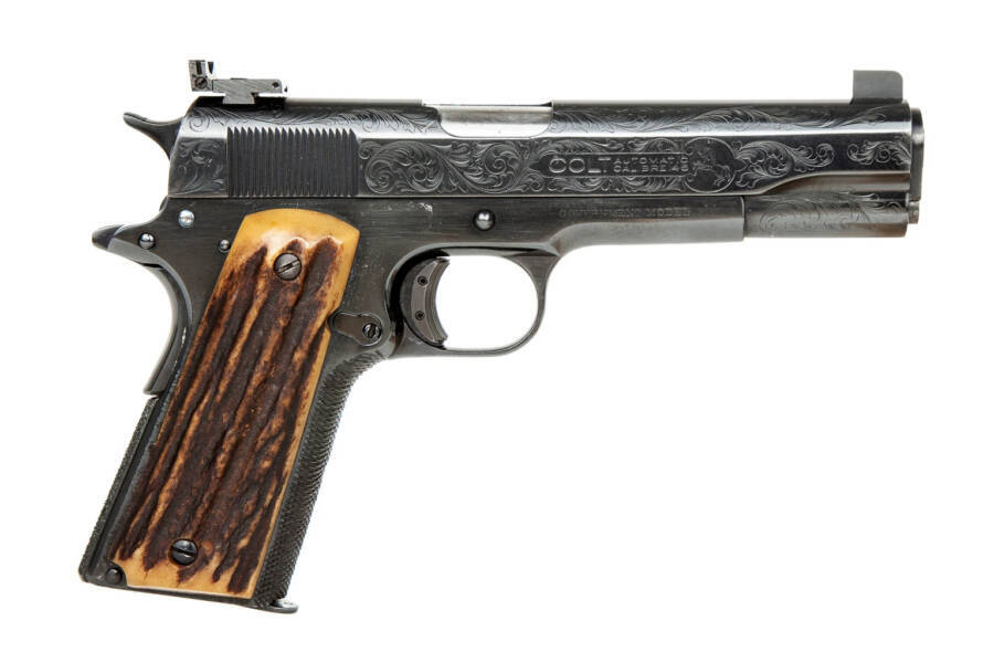 Favorite Pistol Of Al Capone