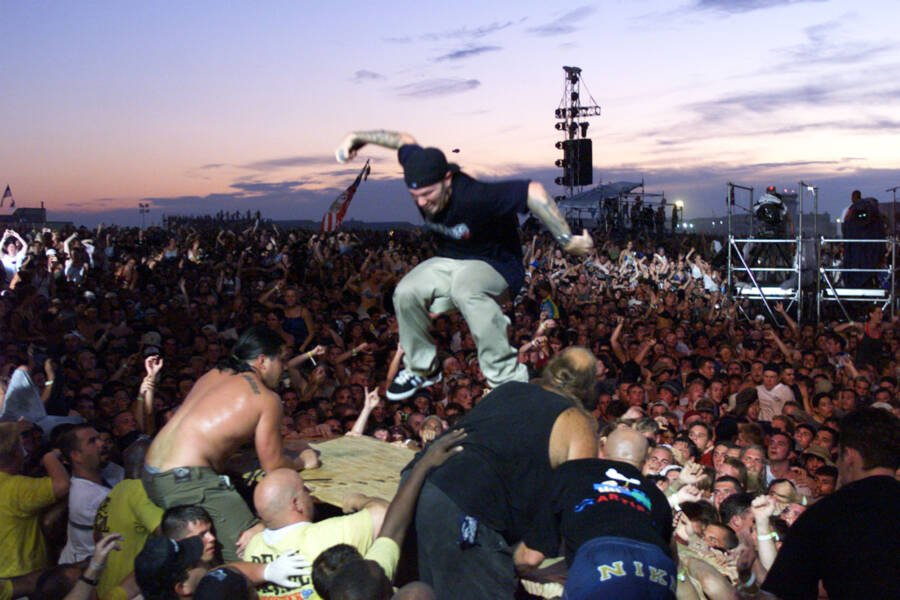 Fred Durst At Woodstock 99