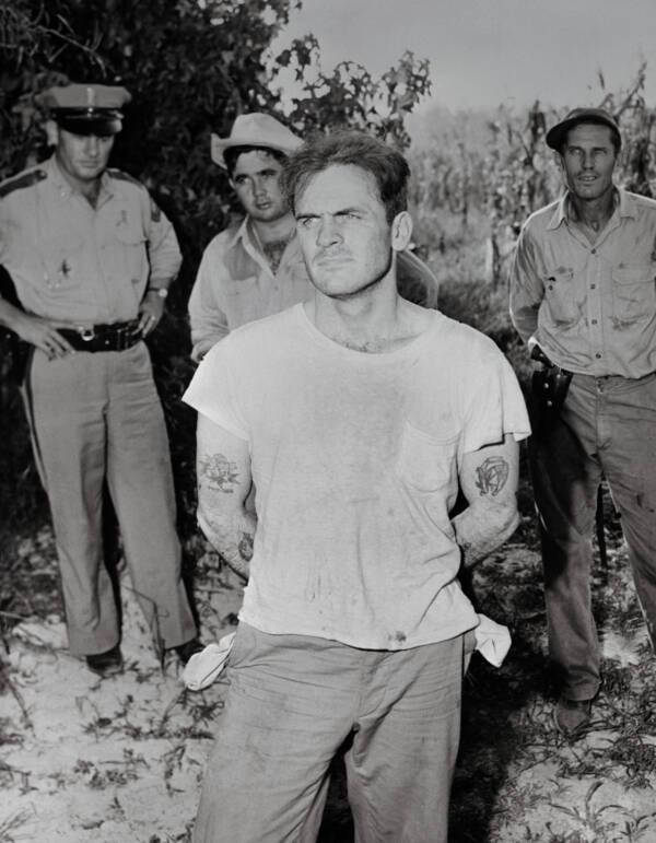 Gerald Gallego During Arrest