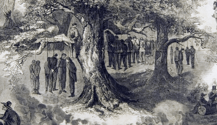 Hanged Unionists In Texas