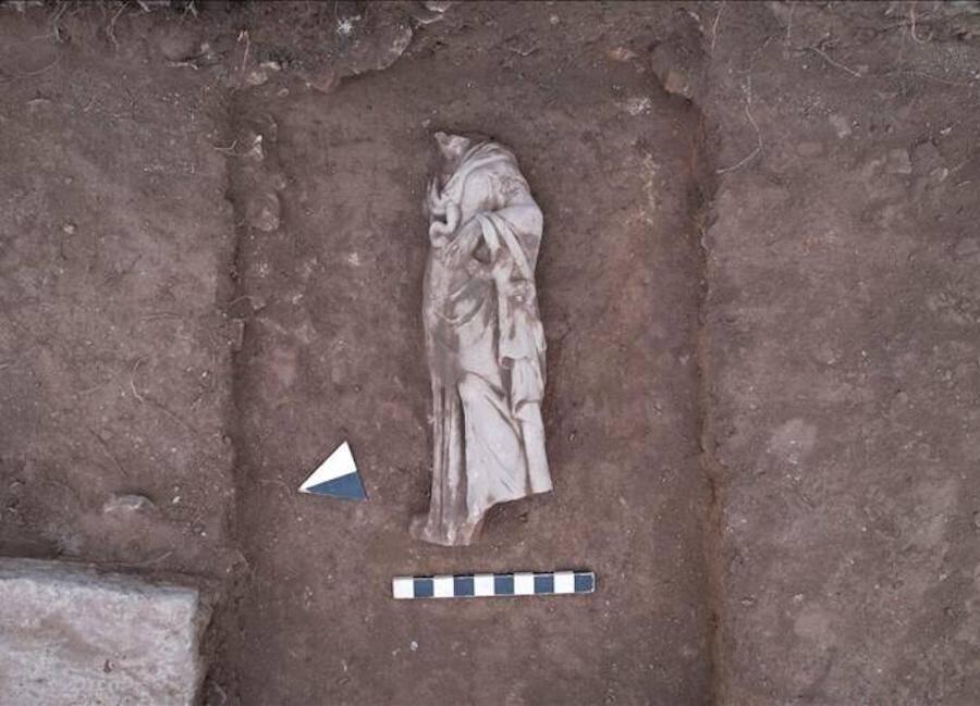 Hygieia Statue