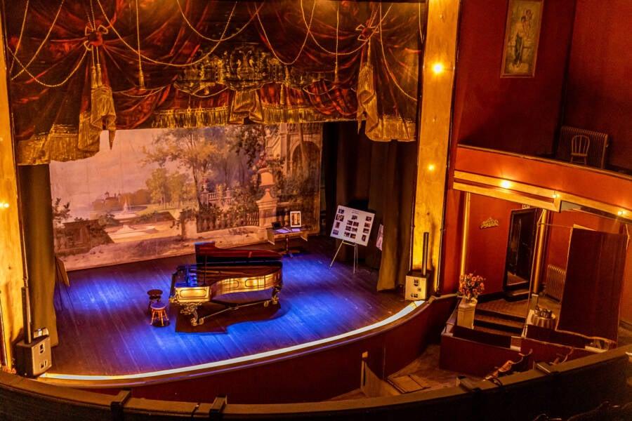 Inside Tabor Opera House
