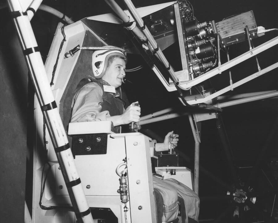Jerrie Cobb Flight Testing