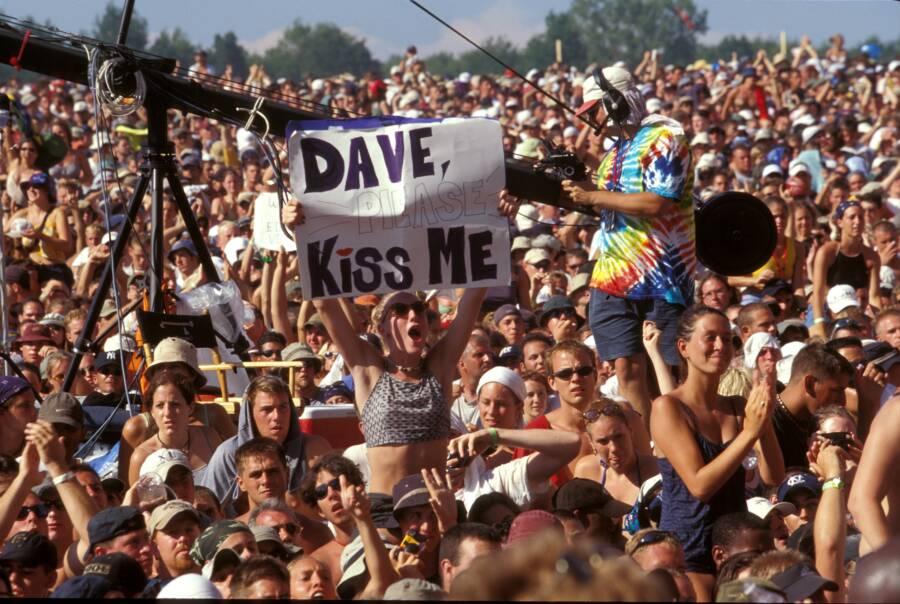 Kiss Me Sign At Woodstock 99