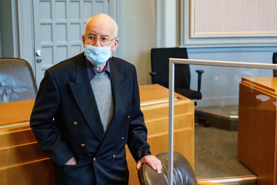 Klaus Dieter F In Court
