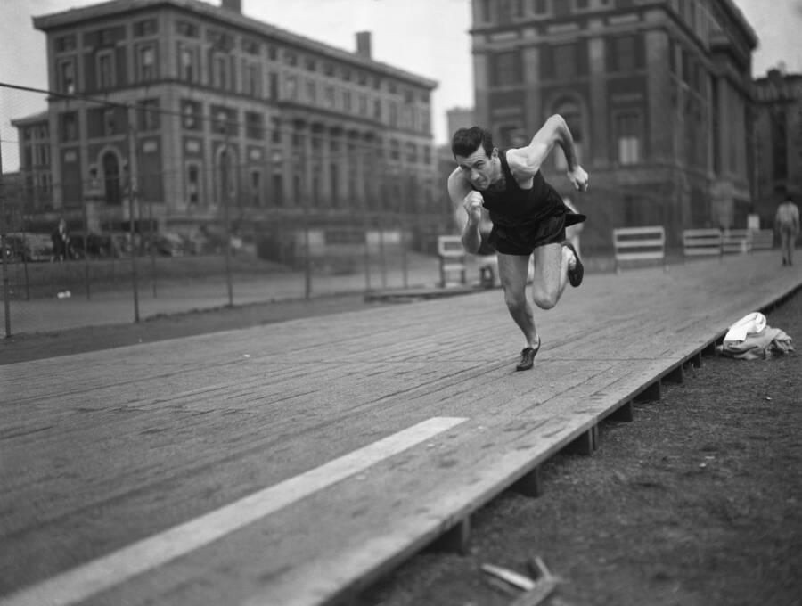 Louis Zamperini Running