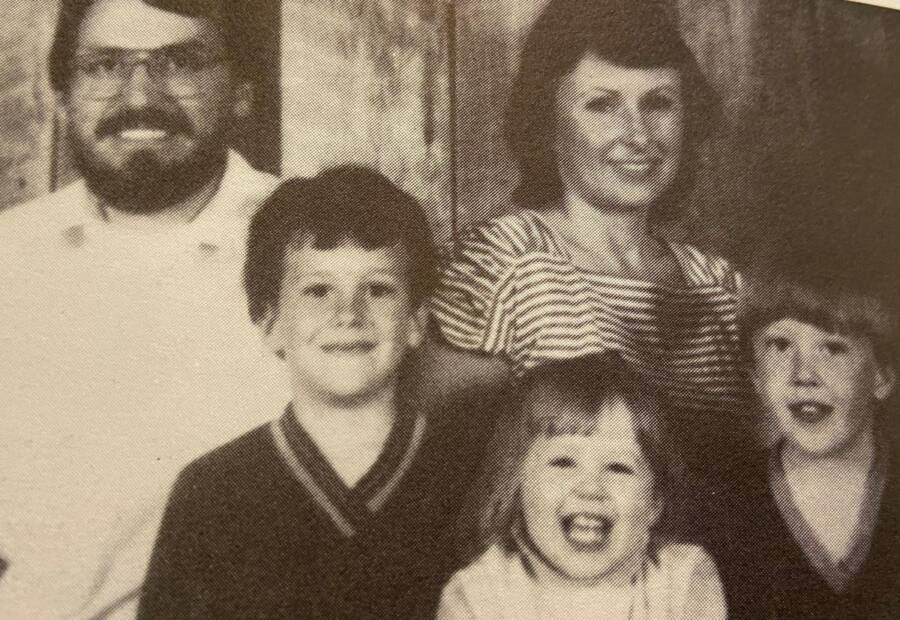 Mike And Teresa Shook With Children