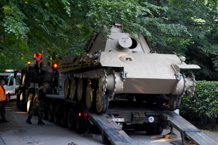 An 84-Year-Old German Retiree Has Just Been Fined 0,000 For Keeping A Nazi WWII Tank In His Basement