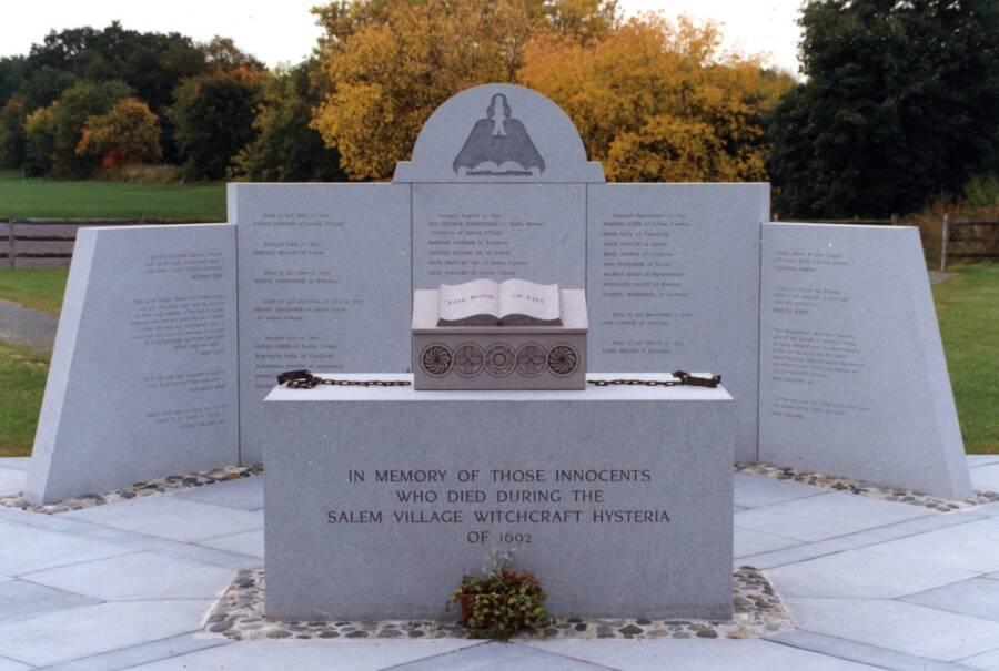 Salem Witchcraft Memorial