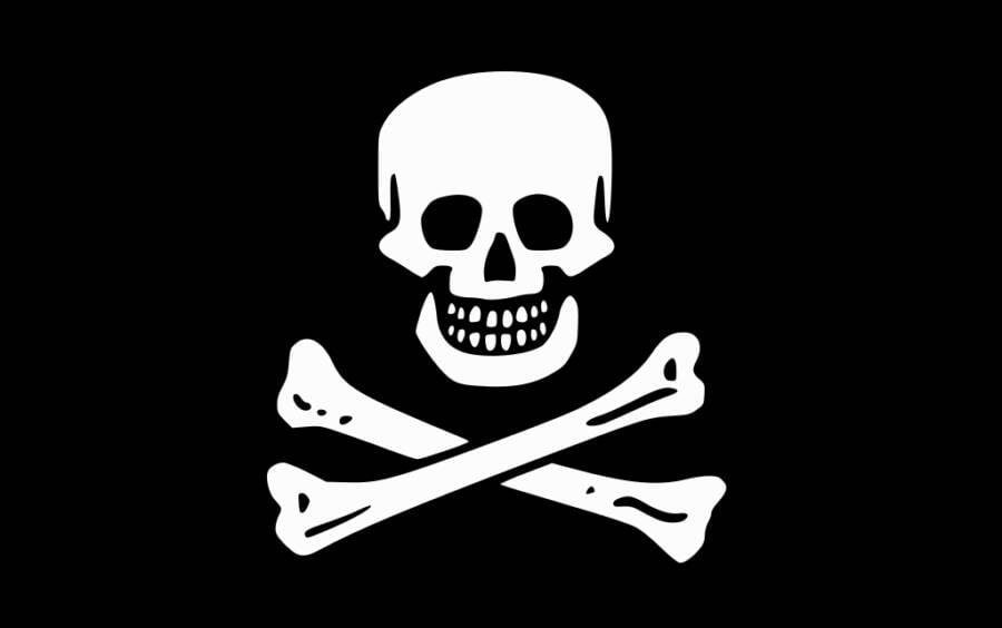Black Sam Bellamy Pirate Flag