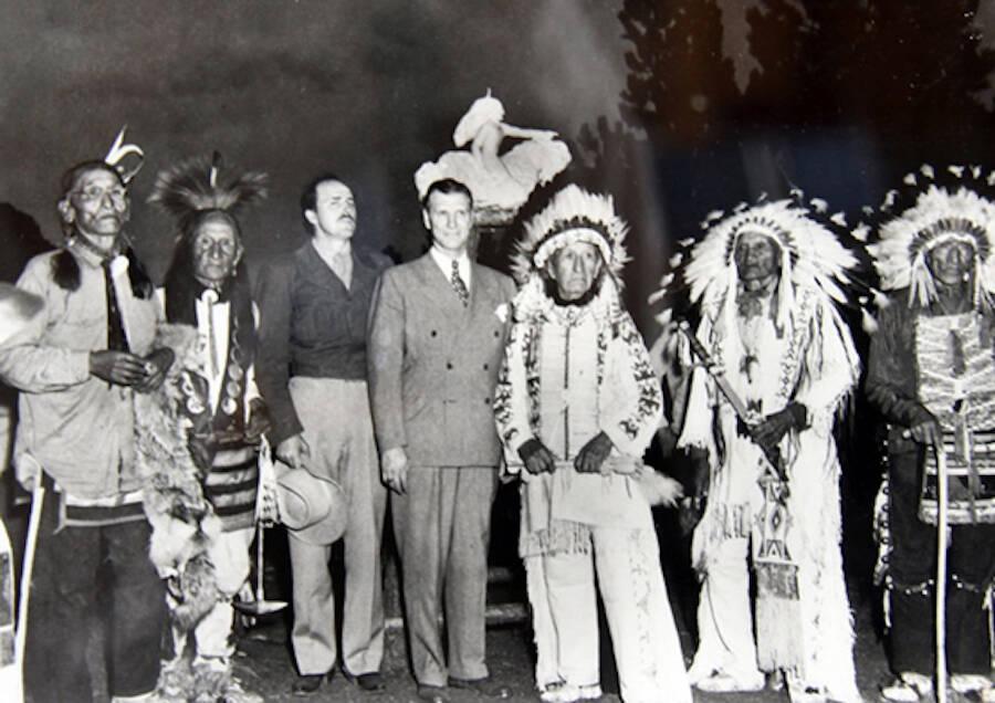 Standing Bear And Korczak Ziolkowski