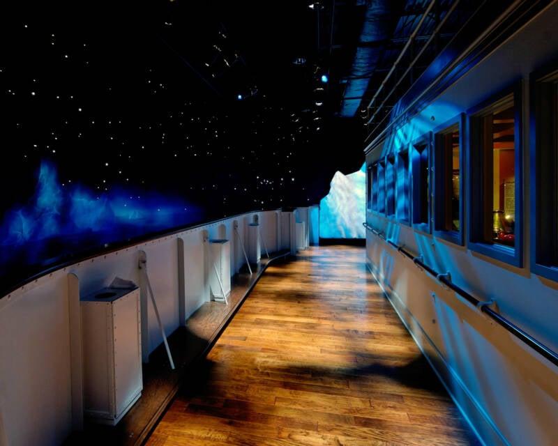 Titanic Pigeon Forge Replica Deck