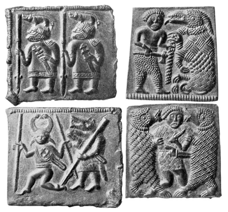 Norse Warrior Plates