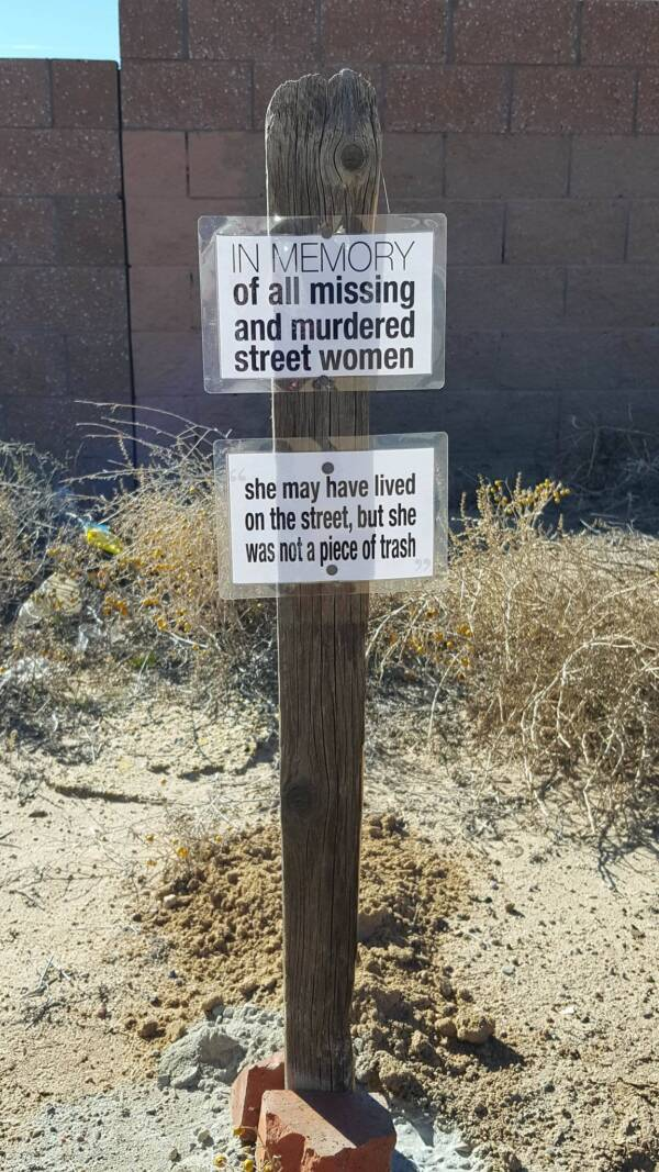 West Mesa Serial Killer Victim Memorial