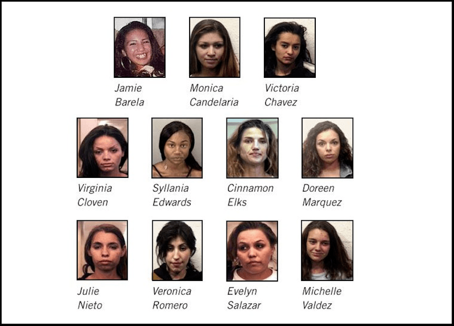 West Mesa Serial Killer Victims