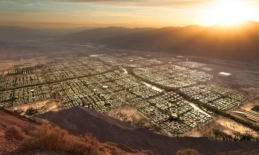 Aerial View Of Telosa