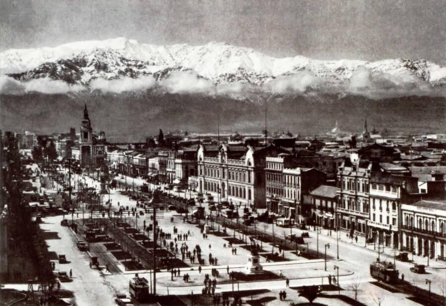 Alameda Neighborhood Santiago Chile